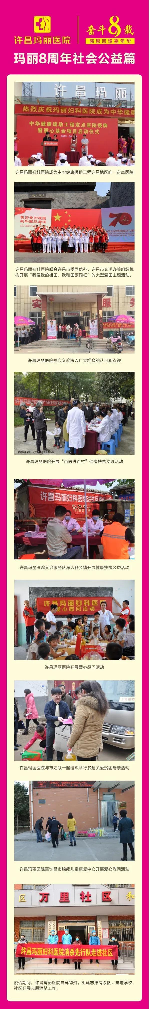 许昌玛丽医院社会公益
