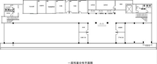 许昌玛丽医院一层科室分布平面图